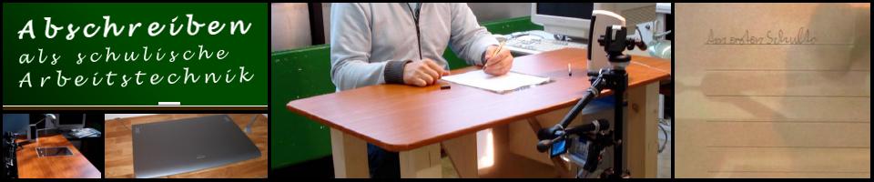 Abschreiben als schulische Arbeitstechnik
